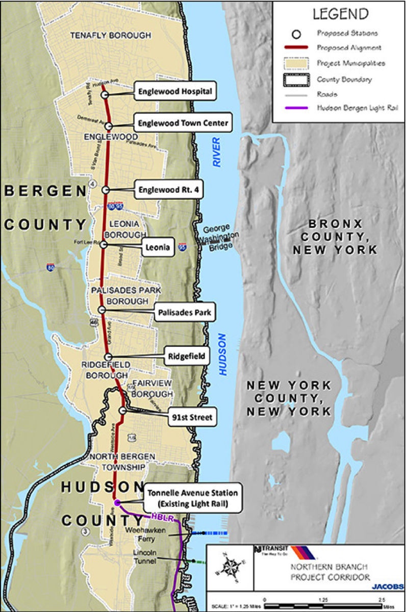 Northern Branch Project Corridor