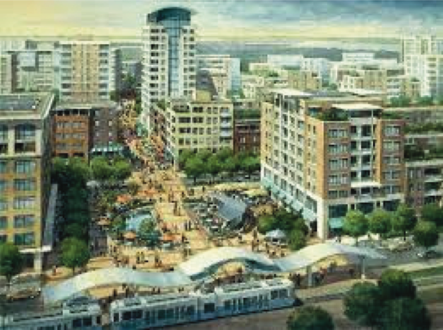 Rendering of Proposed Bayfront Redevelopment